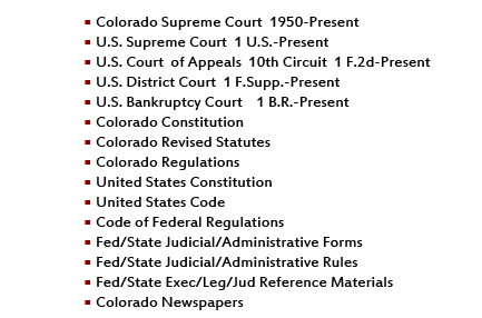 10th Circuit Rules That District Courts >> Thelaw Net Colorado Case Law